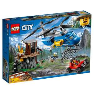 Lego 60173 City Police Mountain Arrest Toy Helicopter £20 @ Tesco