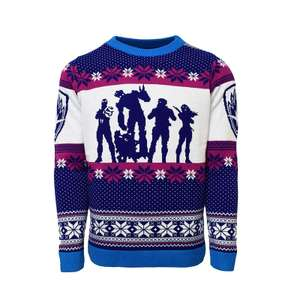 Guardians of the Galaxy Christmas Jumper - Blue - £15.98 delivered @ Zavvi