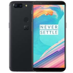 Unlocked One Plus 5t  8GB/128GB black-offer on GiffGaff for £329