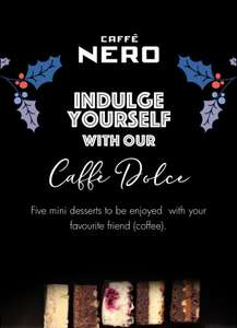 Free Caffe Dolce at Caffè Nero , check your mails for code
