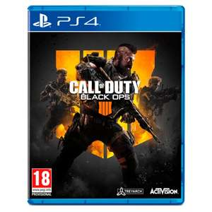 Call Of Duty: Black Ops 4 PS4/Xbox Game, £29 at Tesco