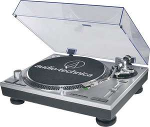 Audio Technica AT-LP120 HC Silver USB Turntable at AV Online for £199.90