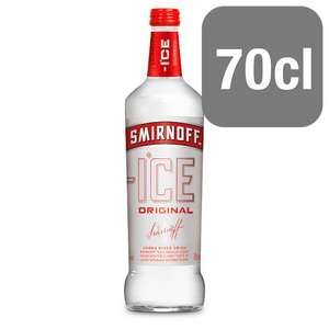 Smirnoff Ice 70cl, 2 for £5 at Tesco