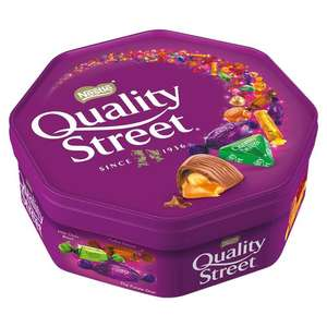 720 Gram Quality Street Tub / £4.00 - Potentially £3.60 at Morrisons