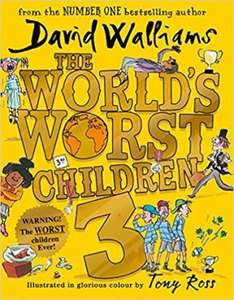 The Worlds Worst Children (David Walliams) £7 with free delivery at  Book Depository