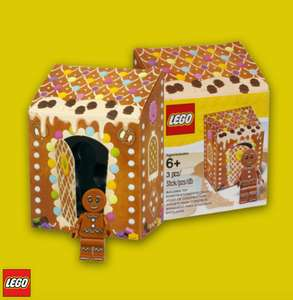 Free Gingerbread Man Minifigure when you spend £10+ at Lego via o2 Priority