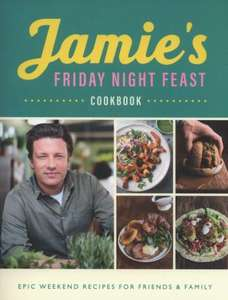 Jamie's Friday Night Cookbook 2018. £8.93 at the Book Depository free delivery
