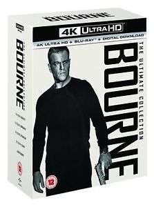 Bourne: The Ultimate 5-movie Collection (4K Ultra HD + Blu-ray + Digital Download) - £34 delivered @ Zoom ebay