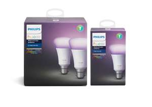 Philips Hue White and Colour Ambience 3-Pack (B22) £79.99 @ Amazon
