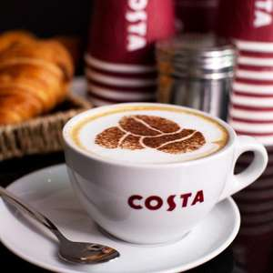 FREE Costa Coffee Gift Cards Worth £1, £3 or £5