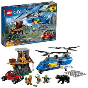 LEGO 60173 City Police Mountain Arrest Building Set, Buggy and Helicopter Toy £20 at Amazon