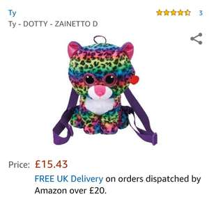 Ty Dotty Backpack £7.99 instore at Card Factory