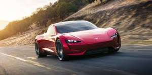 Tesla Roadster - Quickest car in the world £38,000 reservation @ TeslaGB