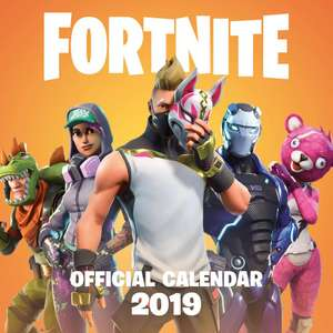 Official Fortnite 2019 Wall Calendar - £5 - The Works