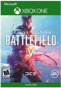 Battlefield V Deluxe  for Xbox One £37.99 @ CD keys