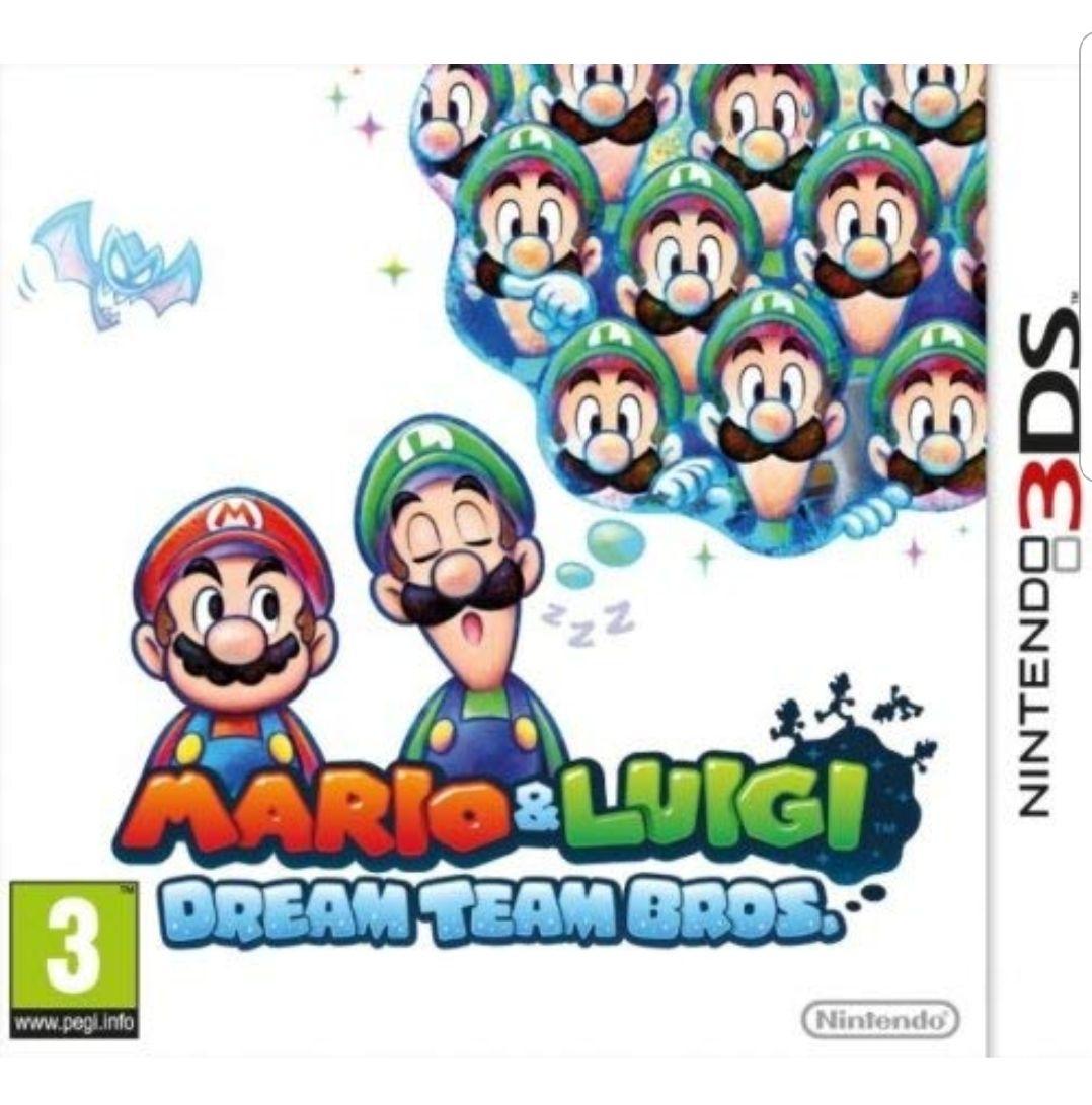 Mario and Luigi: Dream Team Bros. (Nintendo 3DS) £17.21 Prime / £20.20 Non Prime @ Amazon