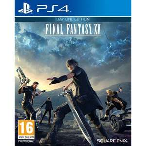 PS4 Final Fantasy XV - Day One Edition only £9.95 at TheGameCollection