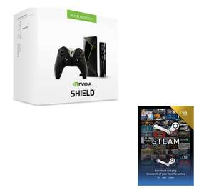 Nvidia SHIELD TV with Remote and Controller & £10 Steam Wallet Card £159.82 Free delivery @ Currys