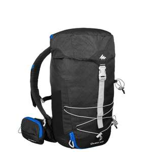 Quechua MH100 20L Hiking Backpack - Black for £7.99 @ Decathlon (Free C&C)