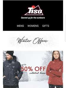 Tiso up to 50% off