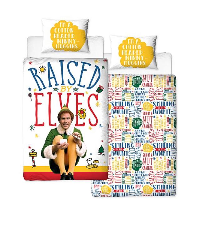 Elf single duvet cover £10 Raised by elves reversible duvet cover @ George Asda Free C&C