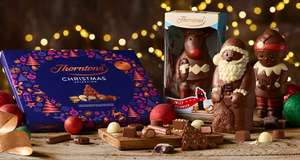 Free chocolates with £25 spend @ Thorntons