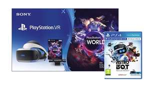 Sony PlayStation VR Starter Pack + ASTRO BOT: Rescue Misson Bundle