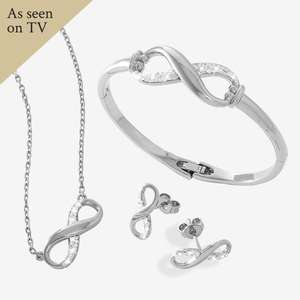 The Infinity Collection Made With Swarovski® Crystals