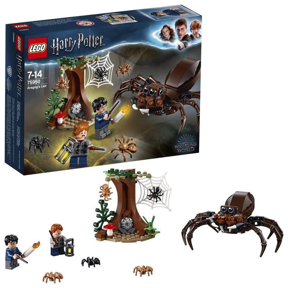 LEGO 75950 Harry Potter Aragog's Lair £10.25 prime / £14.74 non prime at Amazon