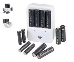GP ReCyko Battery Charger + 8 x AA and 4 x AAA Rechargeable Batteries £16.99 @ Mymemory