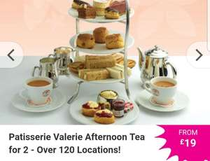 Patisserie Valerie Afternoon Tea for 2