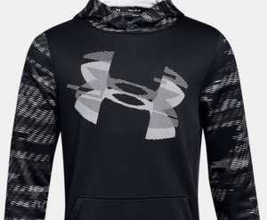 Boys' Armour Fleece® Sleeve Hoodie, £15.12 at under armour, free delivery