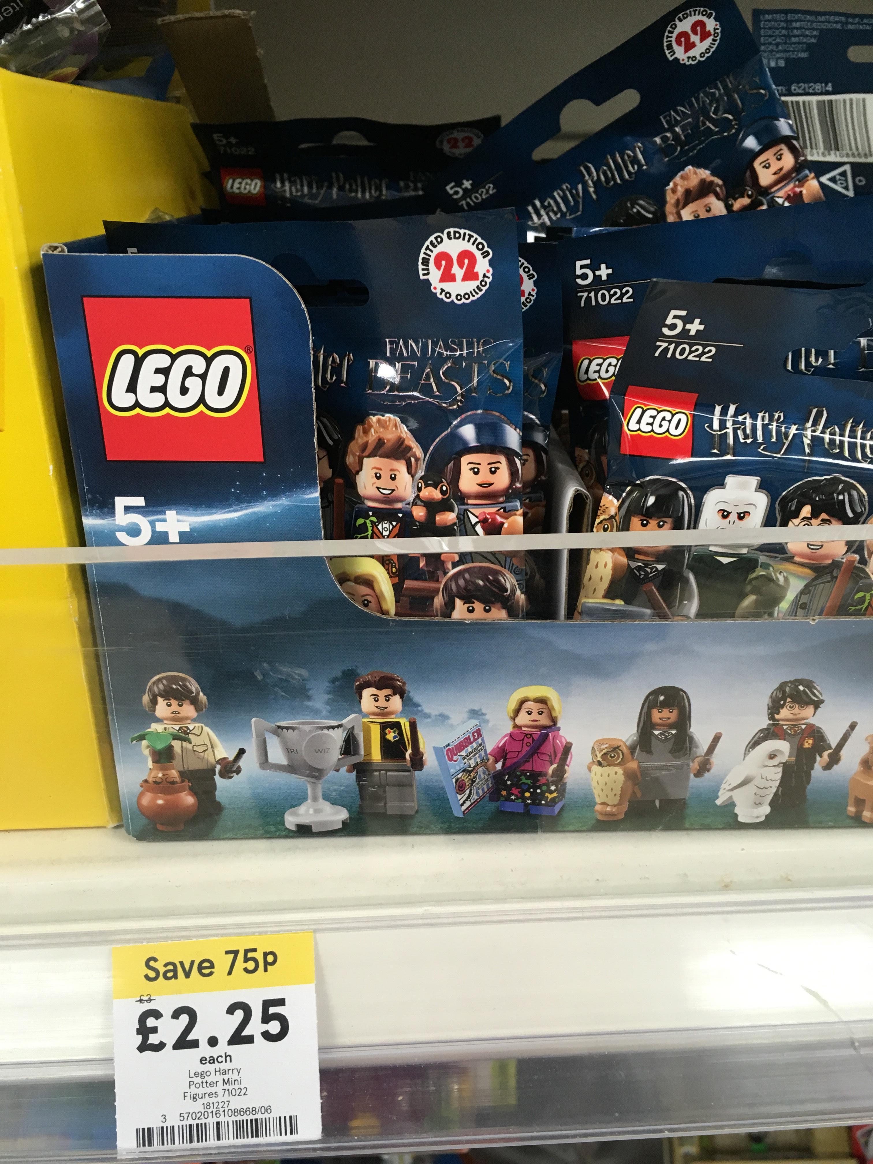 Lego Harry Potter minifigures £2.25 @ Tesco instore