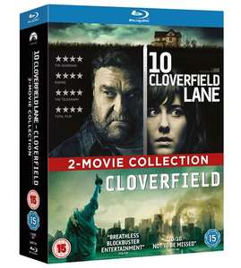 Cloverfield and 10 Cloverfield Lane Blu Ray Box Set £7.91 @ zoom.co.uk with code SIGNUP10
