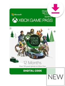 Xbox Game Pass 12 Months subscription £54.99 @ Very