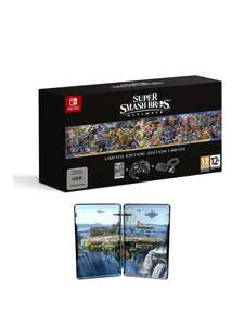 Nintendo Switch Super Smash Bros Ultimate Limited Edition £79.99 @ Very