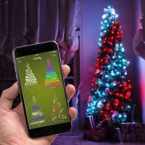 Twinkly app controlled lights prelit tree 6ft £149.99 @ Festive lights