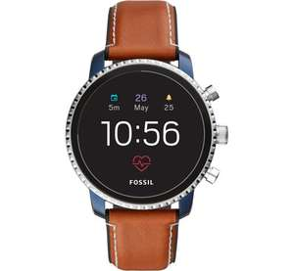ASOS - Fossil Gen 4 Q Explorist Leather Smart Watch 45mm - £181 was £259.00
