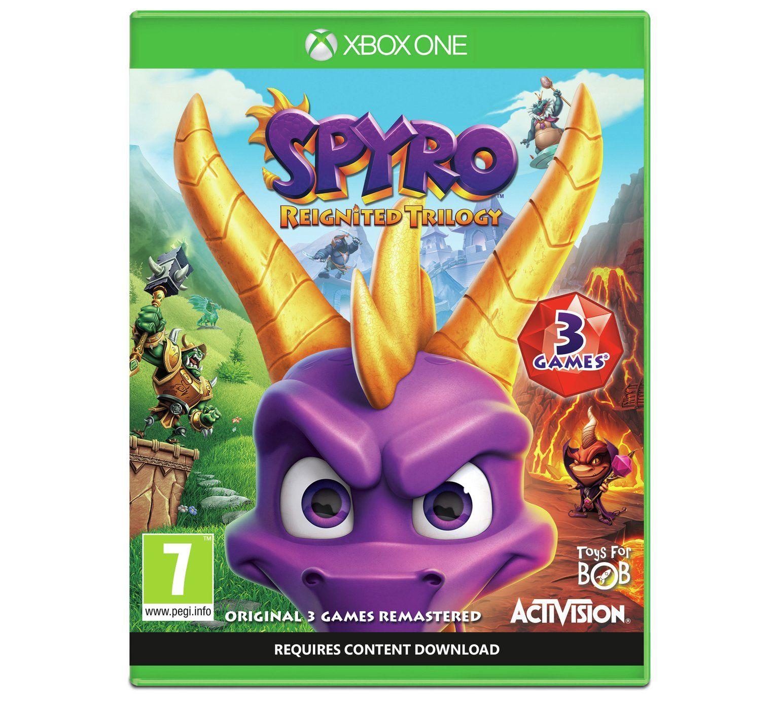 Spyro Reignited Trilogy Xbox One/PS4 £22.99 @ Argos