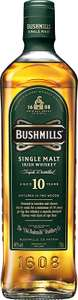 Bushmills 10 Year Old Single Malt Irish Whiskey, 70 cl £21 delivered amazon