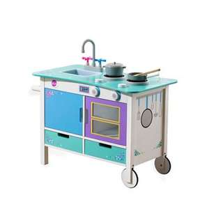 Plum - Cook-a-lot trolley wooden kitchen was £90.00 now £36.00 with code MD37 and Free C & C with code SH3J @ Debenhams