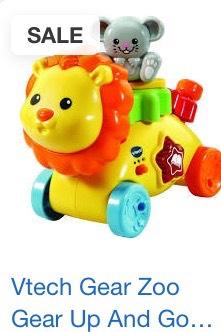 Vtech Gear Zoo gear up and go lion £9.75 @ Wilko