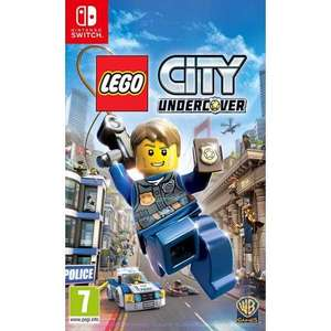 LEGO CITY UNDERCOVER Nintendo Switch £15.95 delivered @ The Game Collection