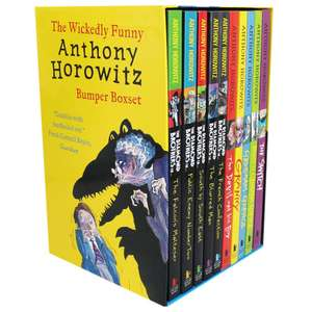Anthony Horowitz Bumper Boxset at The Works for £12 (free C&C)