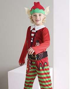 Range of children's Christmas costumes from £8 @ Asda with free C+C Elf/fairy/Santa/Rudolph see OP