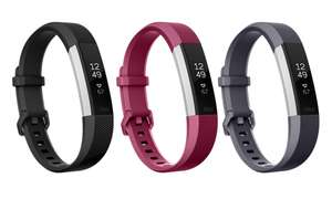 Fitbit Alta HR™ Heart Rate Fitness Wristband - Small/Large - Black/Grey/Purple + 2 Year Warranty - £79.99 Delivered @ Fitbit
