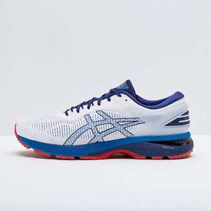 Asics Gel Kayano 25 White/Blue Trainers £93 Delivered/Free Returns £93 @ ProRunningDirect - RRP £155.00