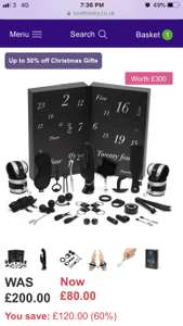 50 Shades of Grey gift set £51 (24 items) worth £300 @ Lovehoney