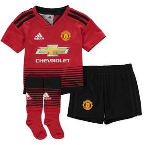 Infant football kits reduced to £32.00 @ Sports Direct + £4.99 postage