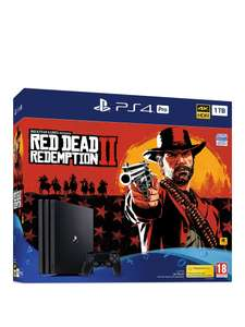 PS4 Pro Red Dead Redemption Bundle £314.99 or £350.99 with additional controller  with code @ Very